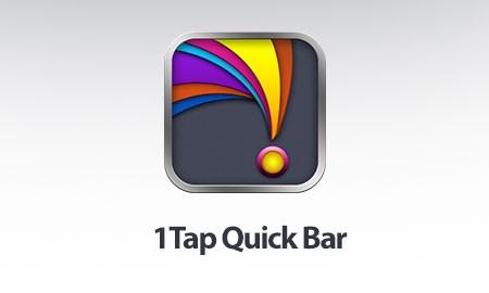 1Tap Quick Bar Ultimate – Quick Settings 2.2 دانلود نرم افزار دسترسی سریع