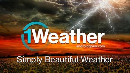 1Weather Pro:Widget Forecast Radar 4.0.1 دانلود نرم افزار هواشناسی
