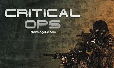 Critical Ops 0.6.4 بازی اکشن تیراندازی عملیات بحرانی اندروید+مود+دیتا
