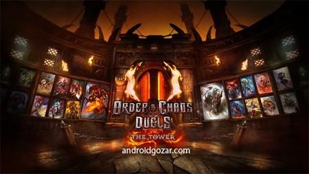 Order & Chaos Duels 1.7.1d دانلود بازی جنگ های نظم و آشوب+دیتا+مود