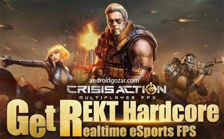 Crisis Action-FPS eSports 2.0 دانلود بازی تیراندازی کرایسیس اکشن+مود+دیتا
