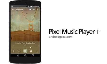 Pixel Music Player + 2.5.01 Patched دانلود نرم افزار موزیک پلیر قدرتمند
