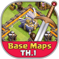best-clash-of-clans-town-hall-1-base-layouts-icon