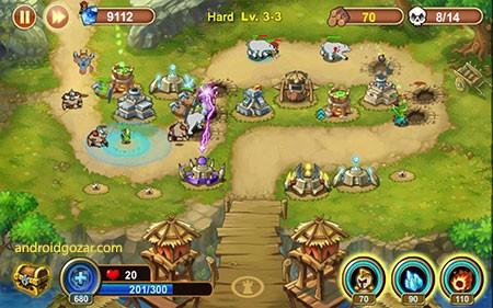 castle defense 6 Castle Defense 1.6.3 دانلود بهترین بازی استراتژی دفاع از قلعه