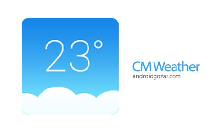 CM Weather (Forecast&Widget) 1.3.4 دانلود نرم افزار آب و هوا اندروید