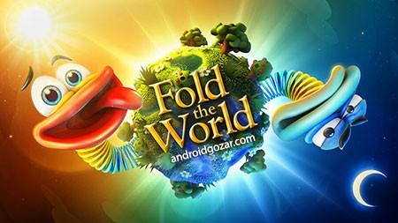 Fold the World 1.1.0 دانلود بازی پازل تا کردن جهان + مود