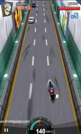 com droidhen game racingmoto 3 Racing Moto 1.2.8 دانلود بازی موتور مسابقه ای سریع