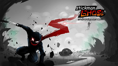 Stickman Ghost Warrior 1.2 دانلود بازی اکشن اعتیاد آور شبح سامورایی+مود