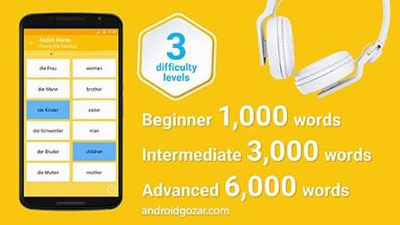 Learn German 6,000 Words Premium 5.23 آموزش زبان آلمانی در اندروید