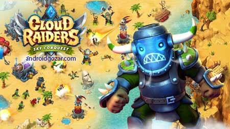 Cloud Raiders 7.8.2 دانلود بازی استراتژی مهاجمان