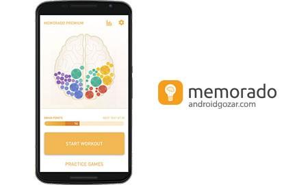 Memorado Premium 1.10.0 دانلود نرم افزار افزایش مهارت های ذهن اندروید