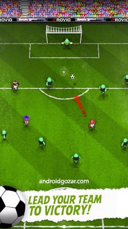 com rovio football 1 Angry Birds Goal! 0.2.8 دانلود بازی فوتبال پرندگان خشمگین