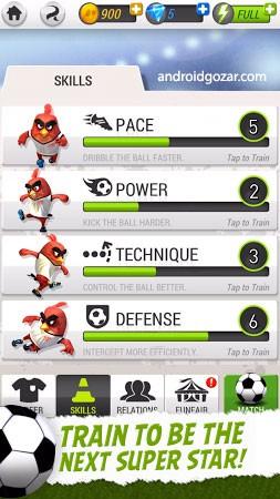 com rovio football 3 Angry Birds Goal! 0.2.8 دانلود بازی فوتبال پرندگان خشمگین