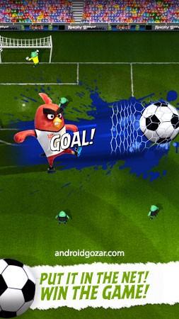com rovio football 5 Angry Birds Goal! 0.2.8 دانلود بازی فوتبال پرندگان خشمگین