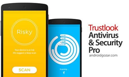 Trustlook Premium Mobile Antivirus App 3.6.10 دانلود آنتی ویروس اندروید