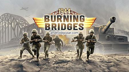 hg burningbridgesfree 0 1944 Burning Bridges 1.1.0 دانلود بازی بزرگترین حمله نظامی جنگ جهانی دوم