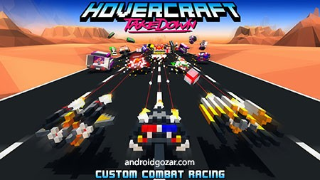 Hovercraft: Takedown 1.4.4 دانلود بازی مسابقه ای هاورکرافت: تخریب + مود
