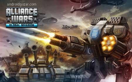 Alliance Wars: Global Invasion 1.881 دانلود بازی جنگ اتحاد: تهاجم جهانی