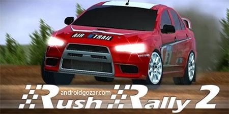 Rush Rally 2 1.95 دانلود بازی رالی ماشین خارج جاده 2 اندروید + مود