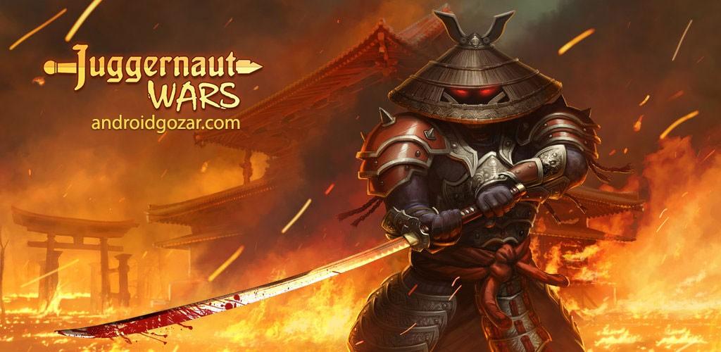 Juggernaut Wars 2.4.0 دانلود بازی جنگ های منهدم کننده اندروید + دیتا
