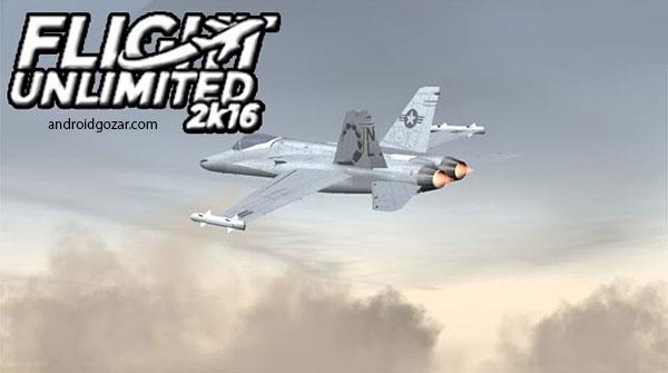Flight Simulator 2K16 1.1 دانلود بازی شبیه ساز پرواز +مود + دیتا