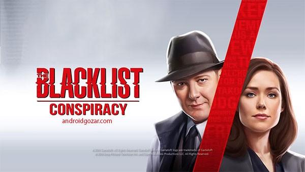 The Blacklist: Conspiracy 1.0.1a دانلود بازی لیست سیاه: توطئه+مود+دیتا