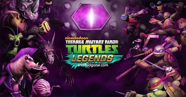 Ninja Turtles: Legends 1.3.7 دانلود بازی لاک پشت های نینجا: افسانه ها+مود