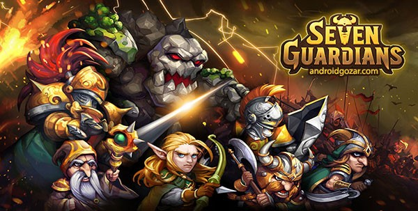 Seven Guardians 1.1.96 دانلود بازی استراتژیک هفت نگهبان اندروید