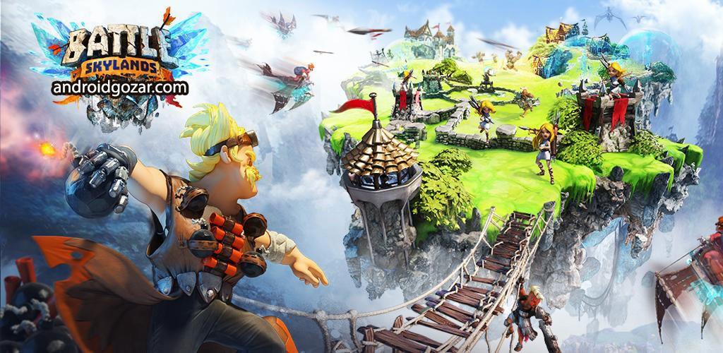 Battle Skylands 1.1.43 دانلود بازی استراتژیکی نبرد اسکای لندز