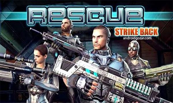 Strike Back: Elite Force 1.4 دانلود بازی اکشن اعتصاب برگشت: نیروی ویژه+مود+دیتا