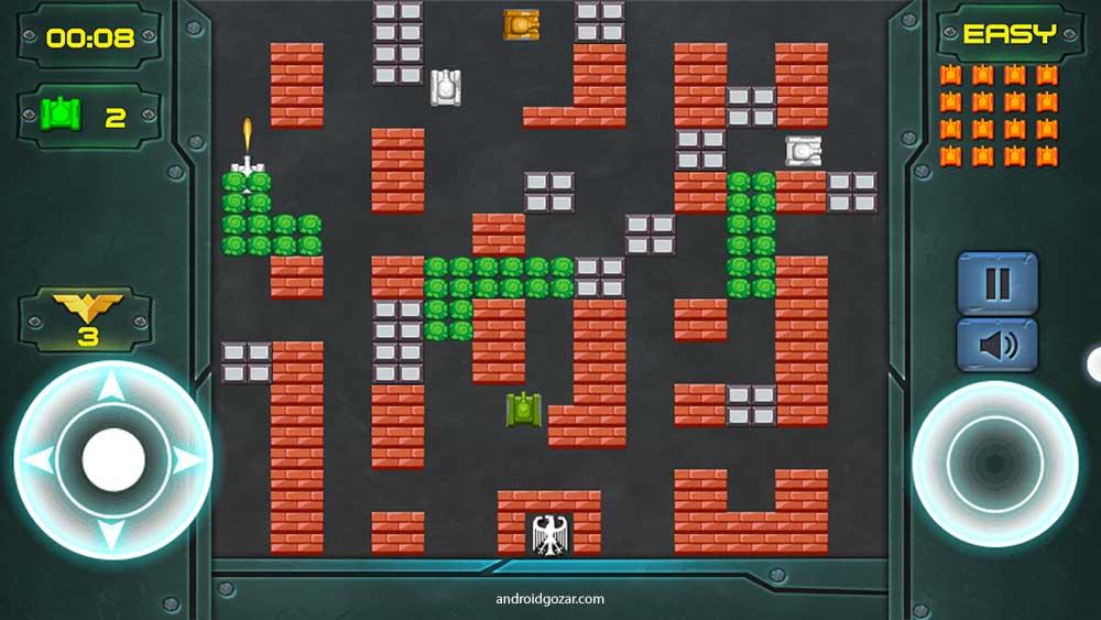 Tank Battle 1.2 دانلود بازی کلاسیک نبرد تانک ها