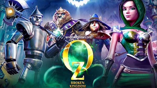 Oz: Broken Kingdom 1.7 دانلود بازی پادشاهی شکست خورده اندروید+مود+دیتا