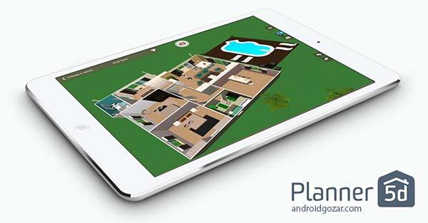 Planner 5D – Interior Design 1.6.8 Unlocked دانلود نرم افزار طراحی خانه و دکور
