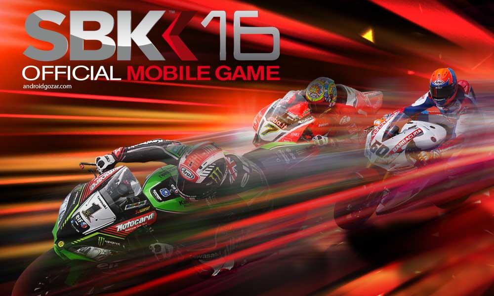 SBK16 Official Mobile Game 1.1.0 دانلود بازی موتور سواری قهرمانی اندروید+مود+دیتا