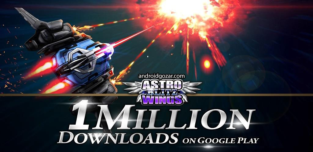 Astrowings Blitz 1.9.21 دانلود بازی حمله رعد آسای اژدرها + مود