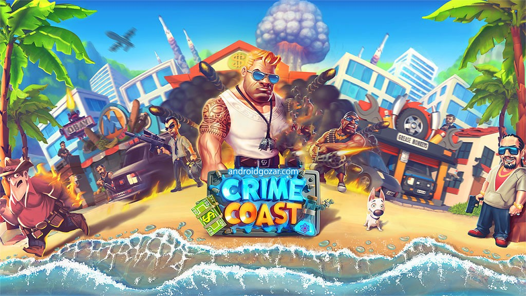 Crime Coast: Gang Wars 91 دانلود بازی ساحل جرم و جنایت