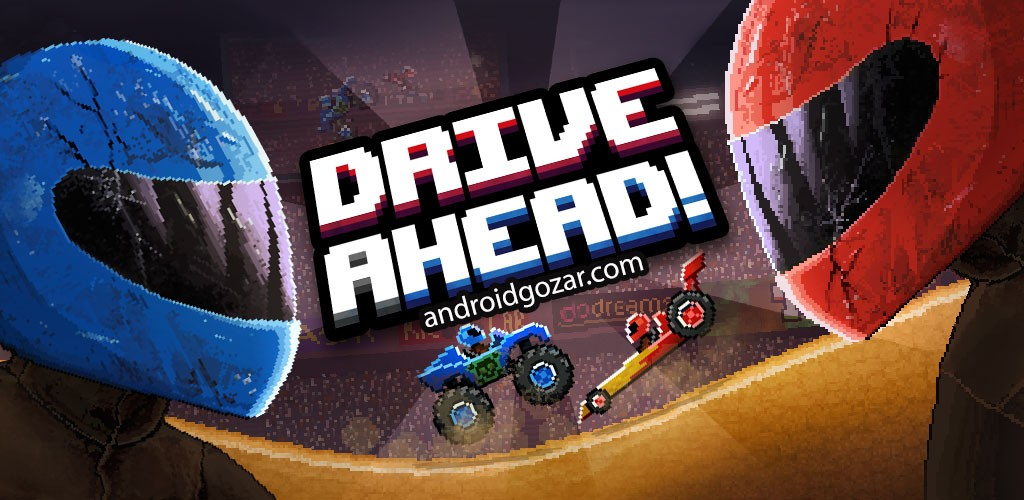 Drive Ahead 1.53 دانلود بازی جنگ ماشین ها اندروید + مود