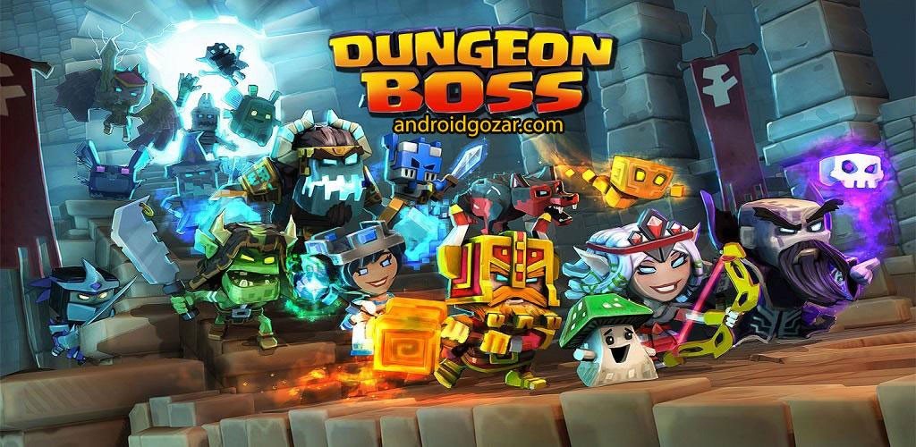 Dungeon Boss 0.5.6239 دانلود بازی رئیس زندان