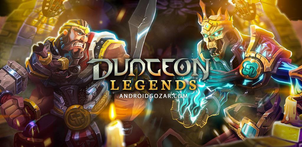 Dungeon Legends 2.200 دانلود بازی افسانه های زندان اندروید + مود