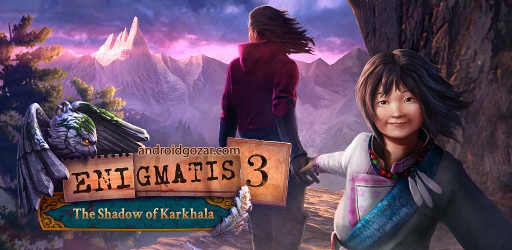 Enigmatis 3 Full 1.2 دانلود بازی ماجراجویی مبهم 3 اندروید + دیتا