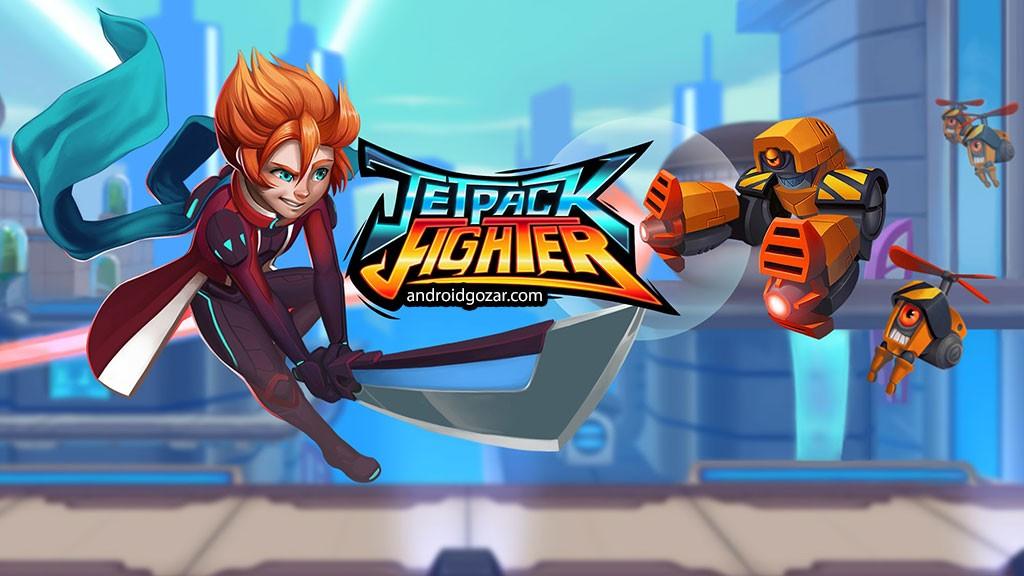 Jetpack Fighter 1.9.0 دانلود بازی جنگنده جت پک + دیتا