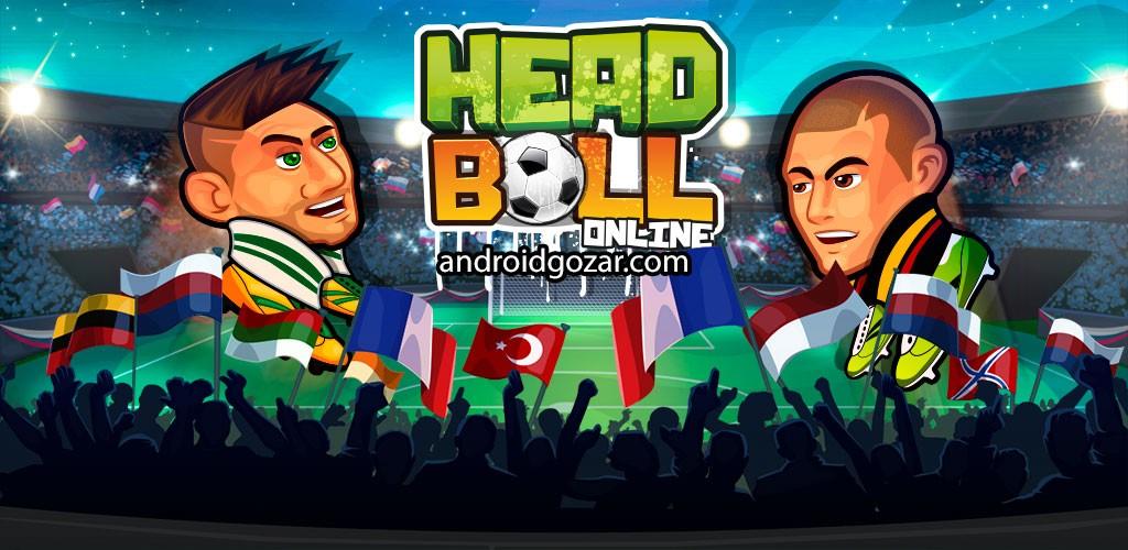 Online Head Ball 19.1 دانلود بازی فوتبال هدبال اندروید
