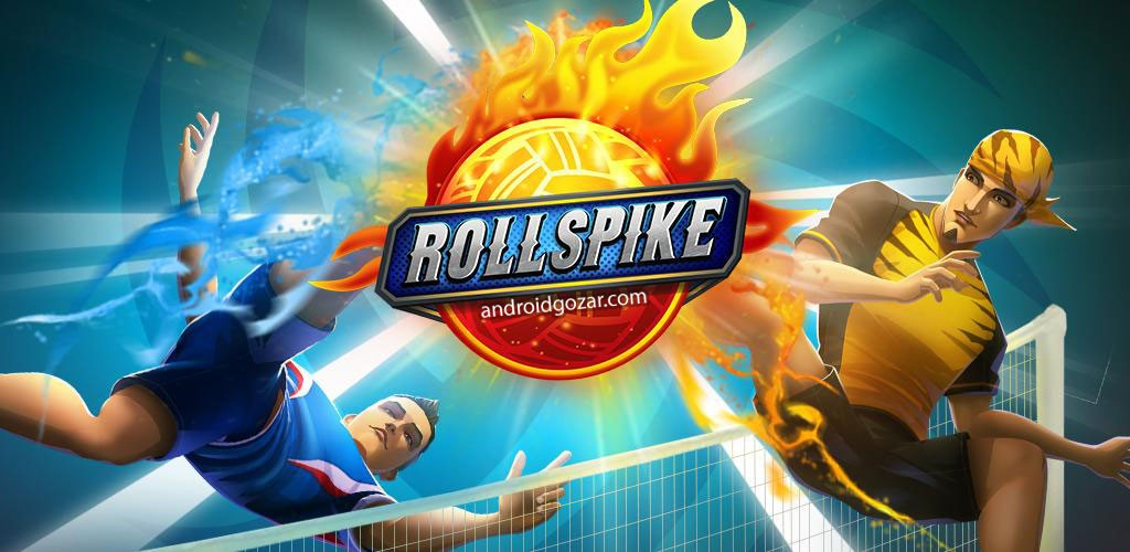 Roll Spike Sepak Takraw 1.3.0 دانلود بازی سپک تاکرا + مود