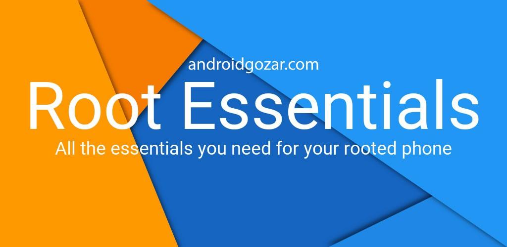 Root Essentials Premium 2.4.6 دانلود ابزارهای ضروری روت اندروید