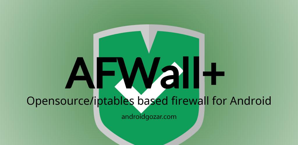 AFWall+ (Donate) 2.9.1 دانلود نرم افزار فایروال اندروید