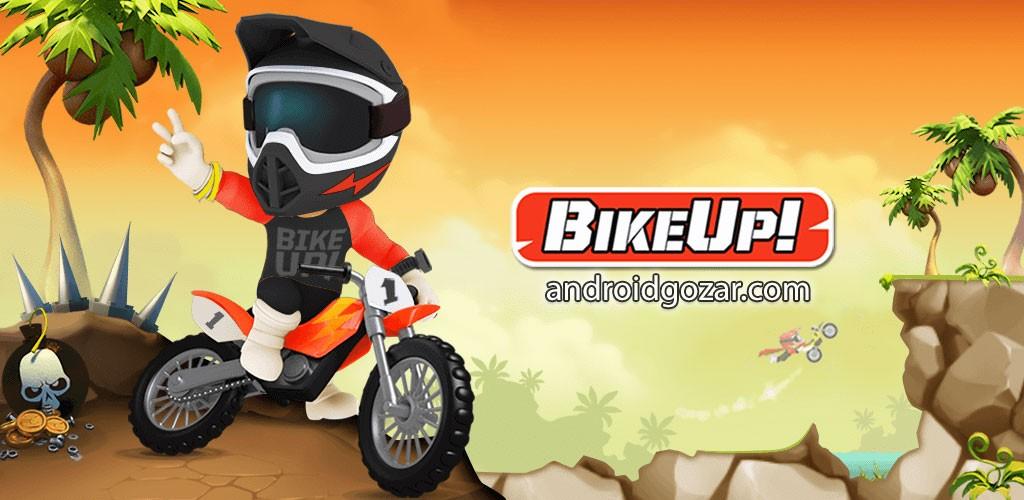 Bike Up! 1.0.1.58 دانلود بازی موتور تریال اندروید + مود