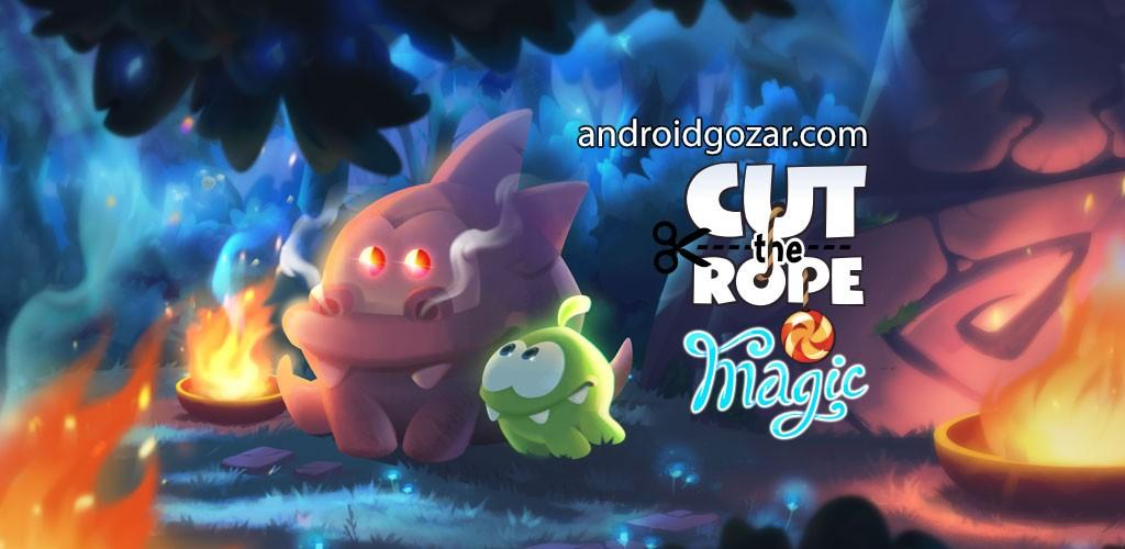 Cut the Rope: Magic 1.4.2 دانلود بازی طناب را ببر: جادو اندرود + مود