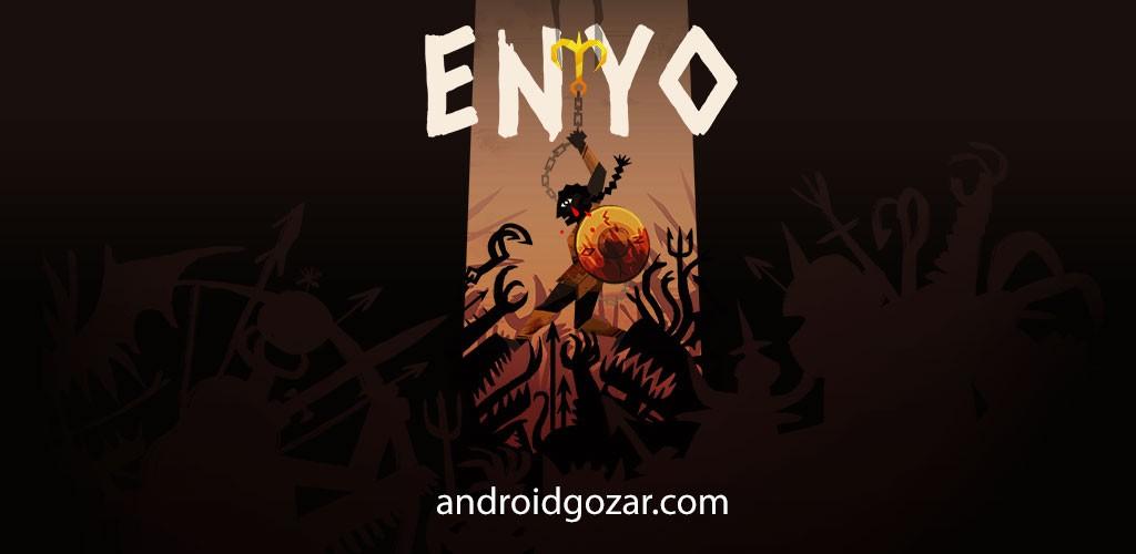 ENYO 1.0.3 دانلود بازی مبارزه با قلاب و سپر اندروید + مود