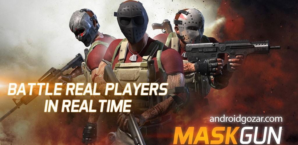 MaskGun – Multiplayer FPS 1.991 دانلود بازی تیراندازی چند نفره آفلاین اندروید + مود