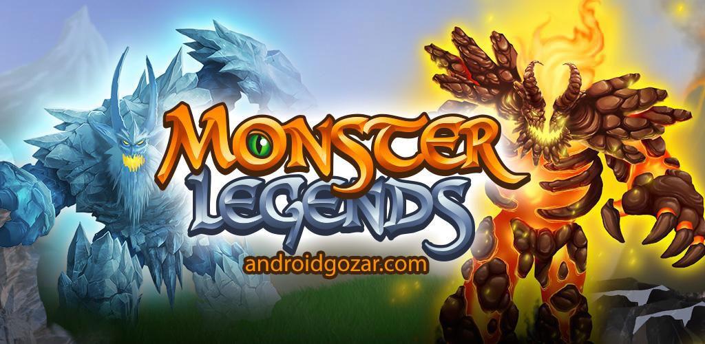 Monster Legends 5.0 دانلود بازی افسانه های هیولا اندروید